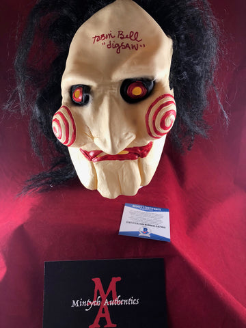 TB_193 - Jigsaw Mask Autographed By Tobin Bell