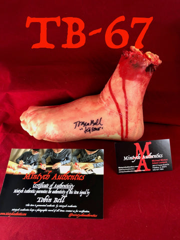 TB_67 - Severed Foot Autographed By Tobin Bell