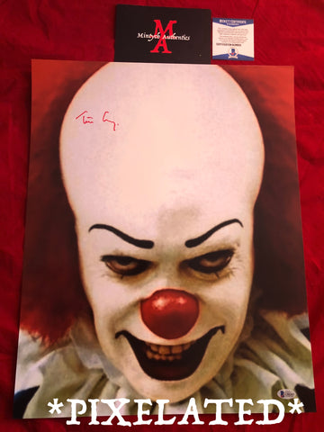 TC_252-16x20 Photo Autographed By Tim Curry
