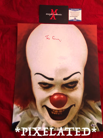 TC_253-16x20 Photo Autographed By Tim Curry