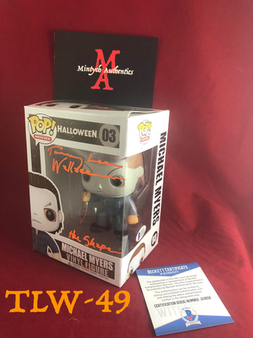 TLW_49 - Michael Myers Funko Pop! Autographed By Tommy Lee Wallace