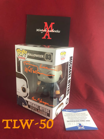 TLW_50 - Michael Myers Funko Pop! Autographed By Tommy Lee Wallace