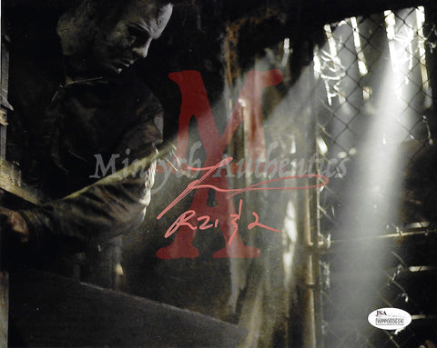 TM_140 - 8x10 Photo Autographed By Tyler Mane