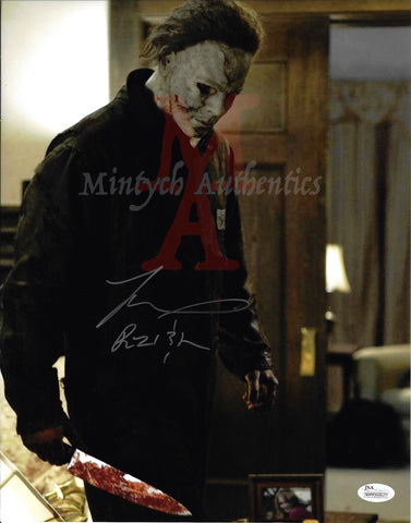 TM_153 - 11x14 Photo Autographed By Tyler Mane
