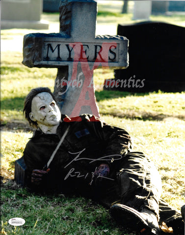 TM_157 - 11x14 Photo Autographed By Tyler Mane
