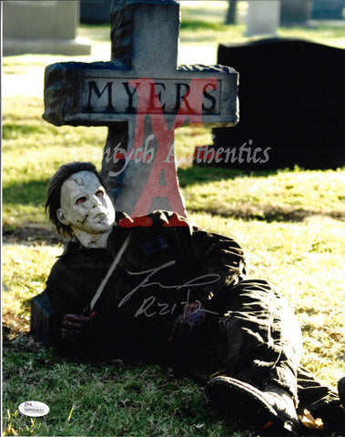 TM_158 - 11x14 Photo Autographed By Tyler Mane