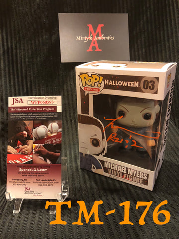 TM_176 - Michael Myers Funko Pop Autographed By Tyler Mane