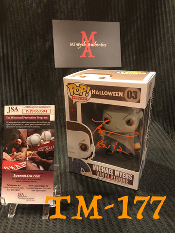 TM_177 - Michael Myers Funko Pop Autographed By Tyler Mane