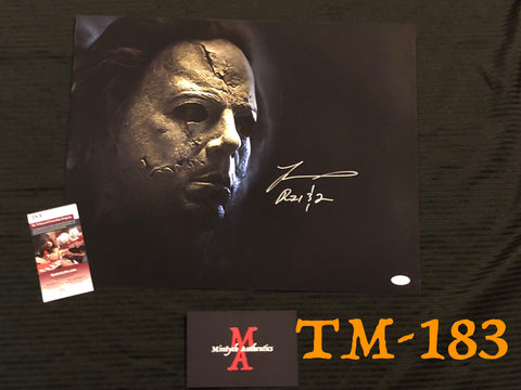 TM_183 - 16x20 Photo Autographed By Tyler Mane