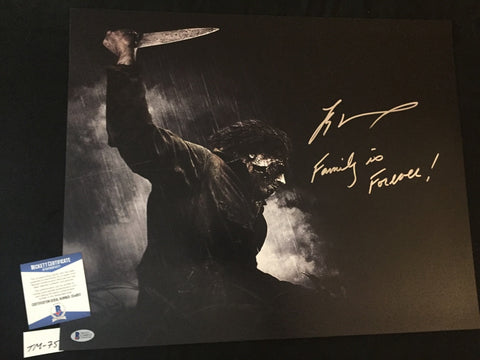 TM_75 - 16x20 Photo Autographed By Tyler Mane