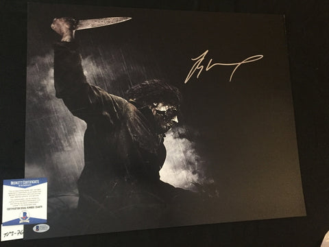 TM_76 - 16x20 Photo Autographed By Tyler Mane