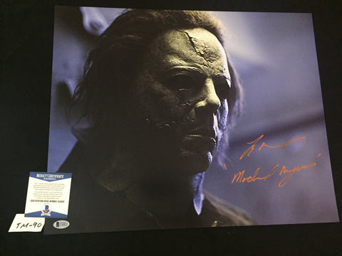 TM_90 - 16x20 Photo Autographed By Tyler Mane