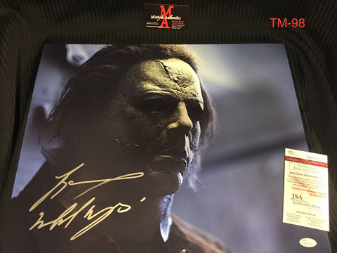 TM_98 - 16x20 Photo Autographed By Tyler Mane