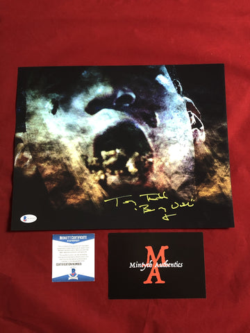 TODD_106 - 11x14 Photo Autographed By Tony Todd