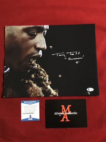 TODD_111 - 11x14 Photo Autographed By Tony Todd