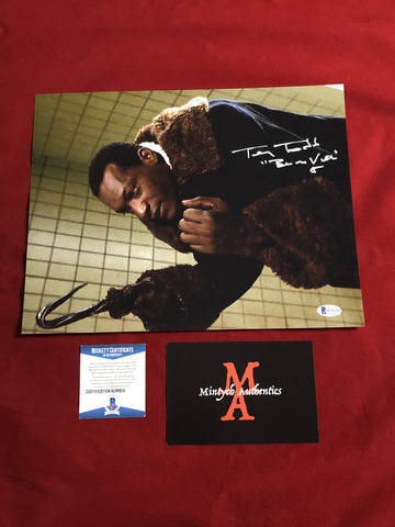 TODD_115 - 11x14 Photo Autographed By Tony Todd