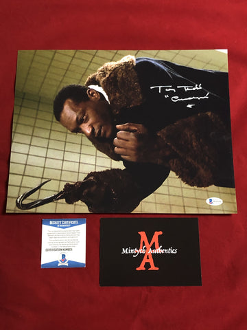 TODD_116 - 11x14 Photo Autographed By Tony Todd