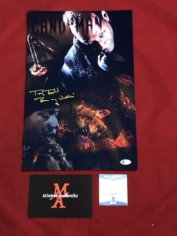 TODD_135 - 11x17 LE Metallic Photo Autographed By Tony Todd