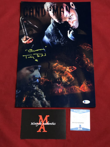 TODD_147 - 11x17 LE Metallic Photo Autographed By Tony Todd