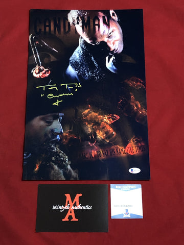 TODD_148 - 11x17 LE Metallic Photo Autographed By Tony Todd
