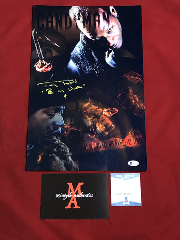 TODD_149 - 11x17 LE Metallic Photo Autographed By Tony Todd