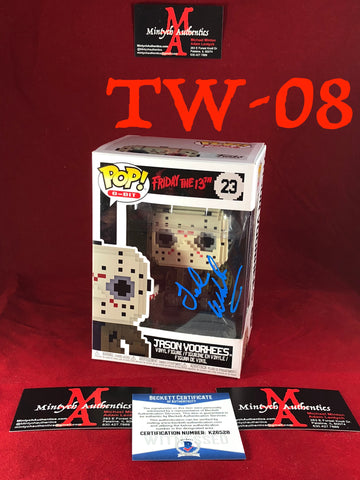 TW_08 - Jason Voorhees Funko Pop! Autographed By Ted White