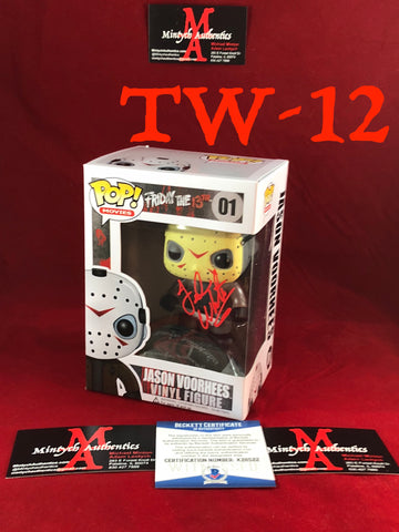 TW_12 - Jason Voorhees Funko Pop! Autographed By Ted White