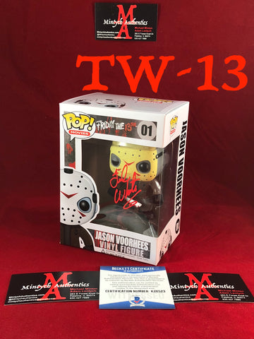 TW_13 - Jason Voorhees Funko Pop! Autographed By Ted White