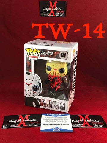 TW_14 - Jason Voorhees Funko Pop! Autographed By Ted White