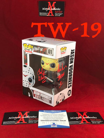 TW_19 - Jason Voorhees Funko Pop! Autographed By Ted White