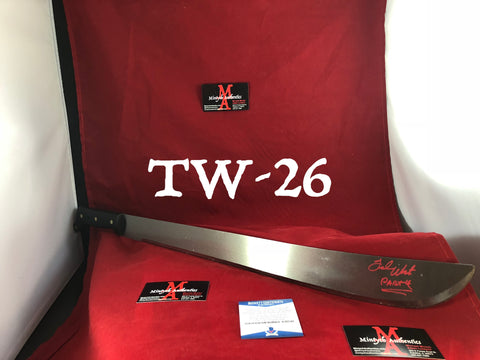 "TW_26 - 22"" Machete Autographed By Ted White"