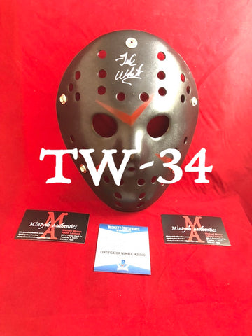 TW_34 - Jason Mask Autographed By Ted White