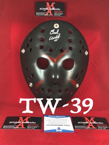 TW_39 - Jason Mask Autographed By Ted White