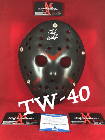 TW_40 - Jason Mask Autographed By Ted White