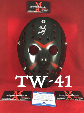 TW_41 - Jason Mask Autographed By Ted White