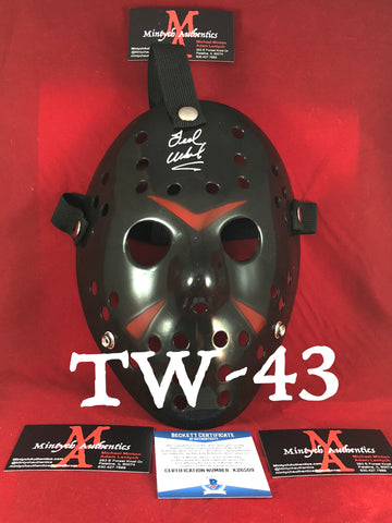 TW_43 - Jason Mask Autographed By Ted White