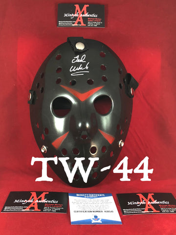 TW_44 - Jason Mask Autographed By Ted White