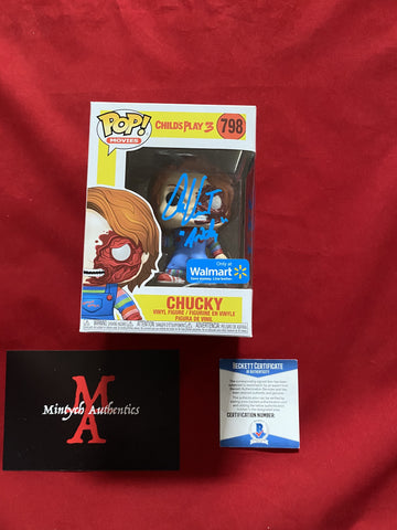 VINCENT_208 - Chucky 798 Walmart Exclusive Funko Pop! Autographed By Alex Vincent