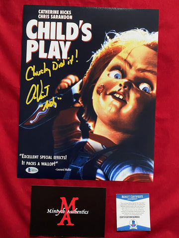 VINCENT_255 - 11x14 Photo Autographed By Alex Vincent