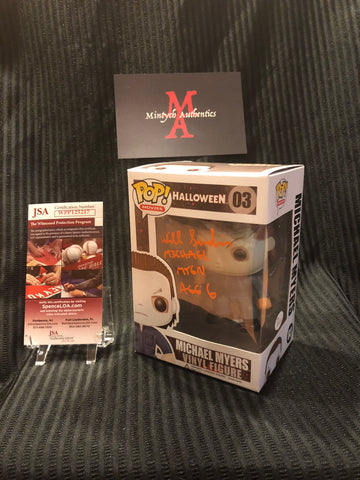 WS_47 - Michael Myers Funko Pop!  Autographed By Will Sandin
