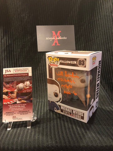 WS_49 - Michael Myers Funko Pop!  Autographed By Will Sandin