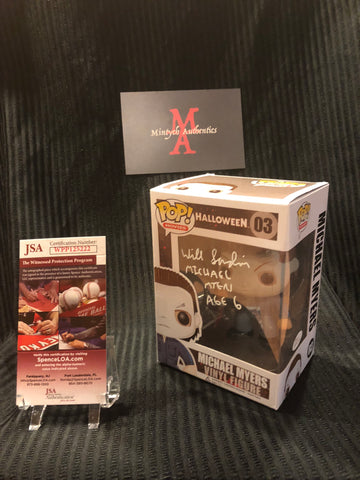 WS_52 - Michael Myers Funko Pop!  Autographed By Will Sandin