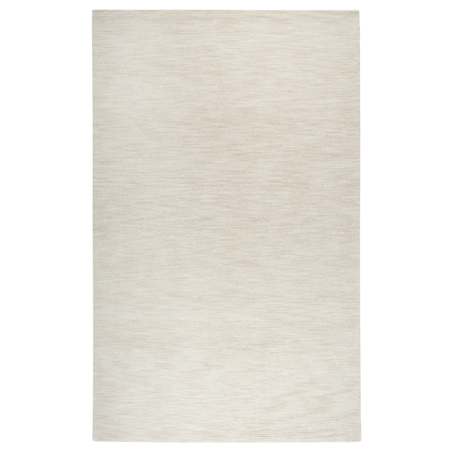 Fifth Avenue Rizzy Home FA167B Beige Neutral 100% Wool Solid Area Rug