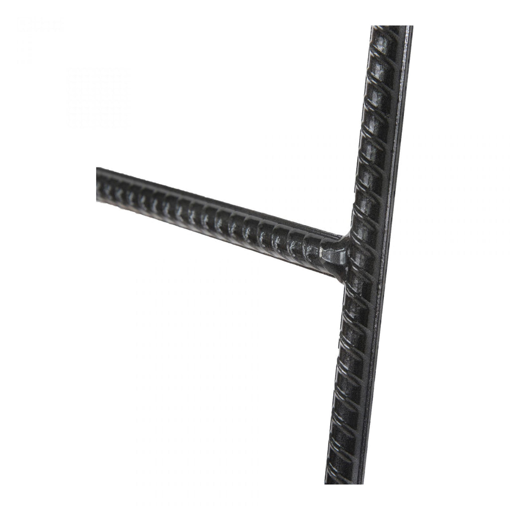 Sleek Black Thin Iron Blanket display home decorative ladder