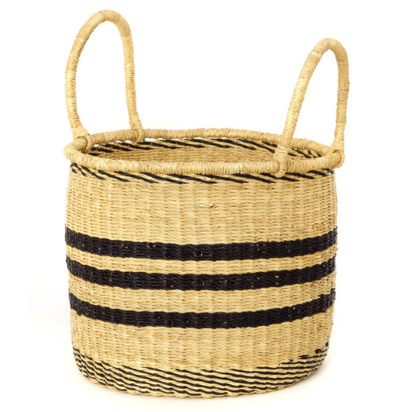 Stripe Storage Basket