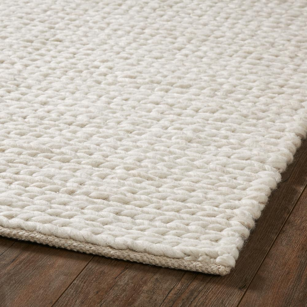 Chunky Natural Wool Braided Rug