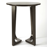 James Dark Brown End Table
