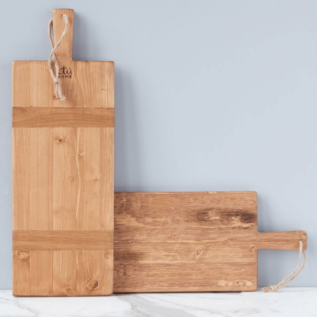 Kaiden Charcuterie Board - Reclaimed Wood Serving Board