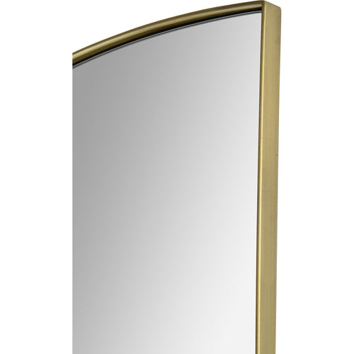 Loona Brass Half-circle Mirror
