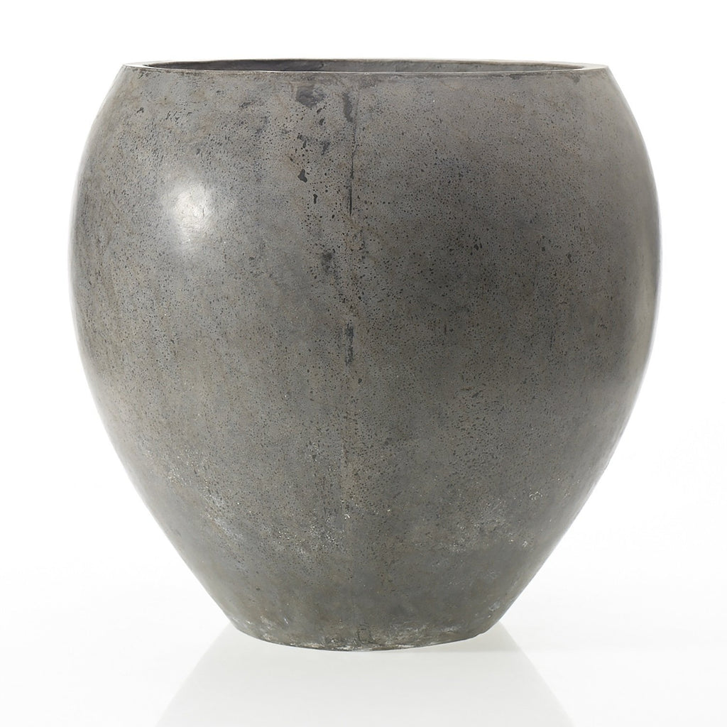 Newport Large Concrete Indoor/Outdoor Pot